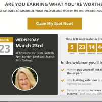 Are You Charging what You are Worth – Free Webinar